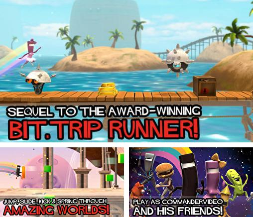 In addition to the game Demon Assault HD for iPhone, iPad or iPod, you can also download Bit.Trip Run! for free.