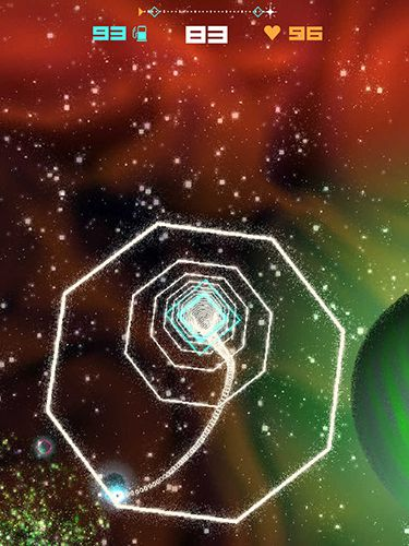 Screenshots of the Black hole: Joyrider game for iPhone, iPad or iPod.