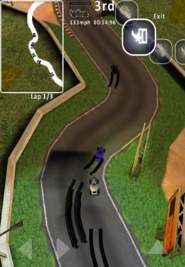Screenshots do jogo Black Mamba Racer para iPhone, iPad ou iPod.