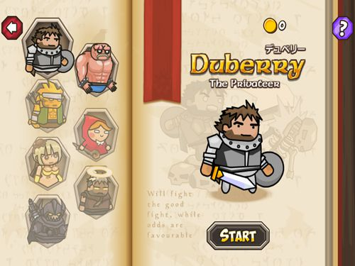 Игра Blackmoor: Dubbery's quest для iPhone