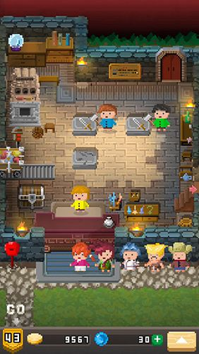 Capturas de pantalla del juego Blacksmith story para iPhone, iPad o iPod.