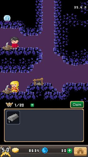 Écrans du jeu Blacksmith story pour iPhone, iPad ou iPod.