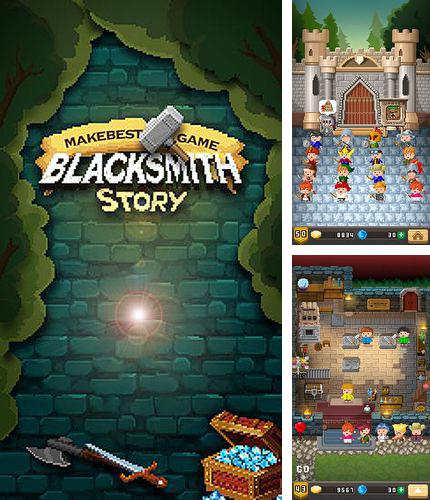 In addition to the game Miriam: The escape for iPhone, iPad or iPod, you can also download Blacksmith story for free.