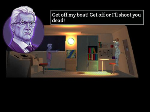 Écrans du jeu Blackwell 4: Deception pour iPhone, iPad ou iPod.