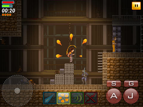Screenshots of the Blade of betrayal game for iPhone, iPad or iPod.