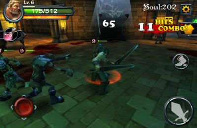 Descarga gratuita de Blade of Darkness para iPhone, iPad y iPod.