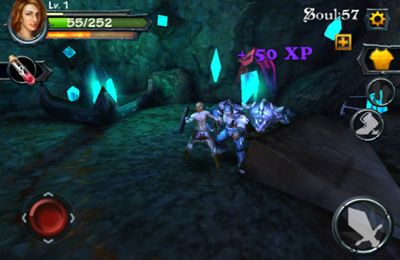 Screenshots of the Blade of Darkness game for iPhone, iPad or iPod.