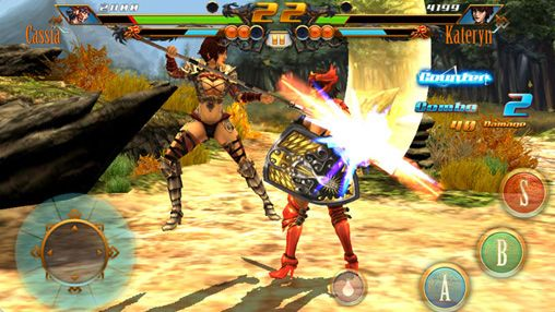 Écrans du jeu Bladelords: Fighting revolution pour iPhone, iPad ou iPod.