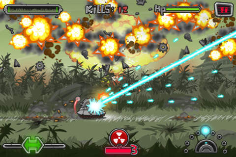 Screenshots do jogo Blaster Tank para iPhone, iPad ou iPod.