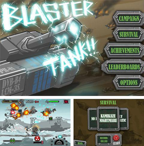 In addition to the game Bad gravity for iPhone, iPad or iPod, you can also download Blaster Tank for free.