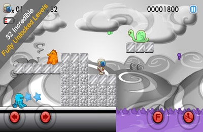 Download Blastronaut iPhone free game.