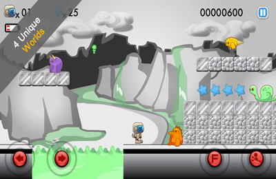 Screenshots of the Blastronaut game for iPhone, iPad or iPod.