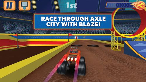 Download Blaze and the monster machines iPhone free game.