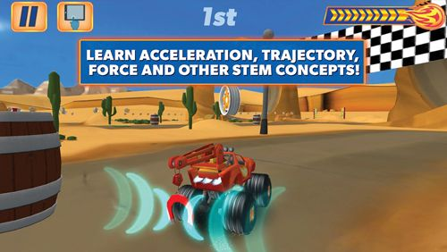 Free Blaze and the monster machines download for iPhone, iPad and iPod.