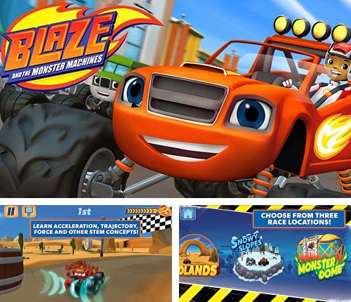 En plus du jeu Les Guerres des Etoiles pour iPhone, iPad ou iPod, vous pouvez aussi télécharger gratuitement Blaze et voitures-monstres, Blaze and the monster machines.
