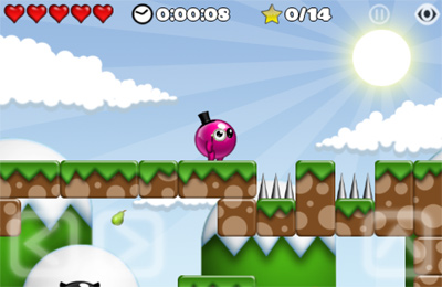 Screenshots of the Blib Blob game for iPhone, iPad or iPod.