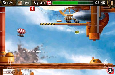 Écrans du jeu Blimp – The Flying Adventures pour iPhone, iPad ou iPod.
