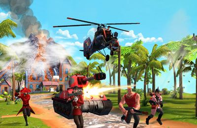 Kostenloser Download von Blitz Brigade – Online multiplayer shooting action! für iPhone, iPad und iPod.