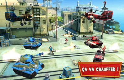 Screenshots vom Spiel Blitz Brigade – Online multiplayer shooting action! für iPhone, iPad oder iPod.