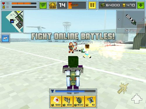Free Block city wars download for iPhone, iPad and iPod.