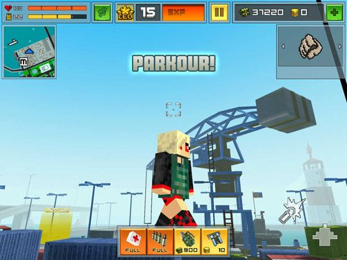 Screenshots of the Block city wars game for iPhone, iPad or iPod.