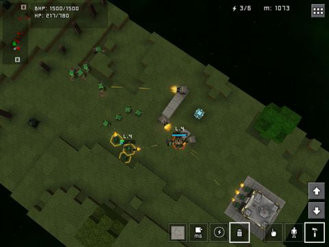 Screenshots of the Block fortress: War game for iPhone, iPad or iPod.