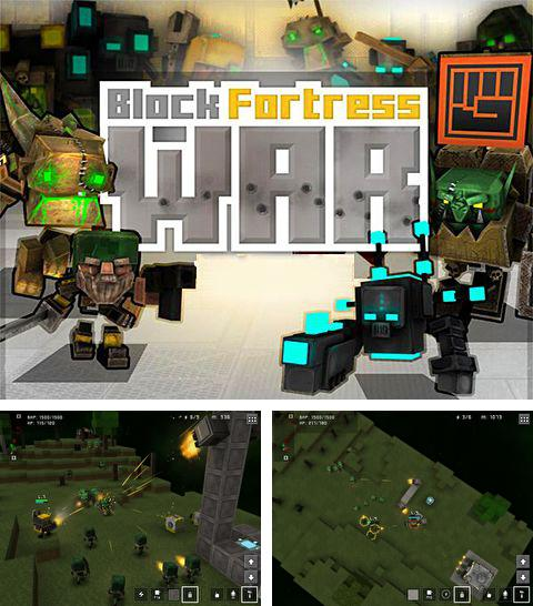 In addition to the game Angry zombies: Bike race for iPhone, iPad or iPod, you can also download Block fortress: War for free.