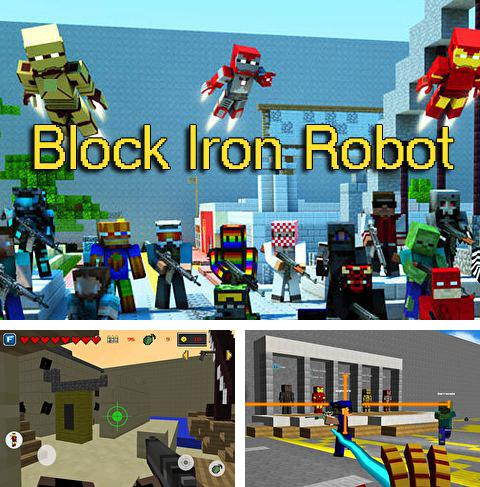 In addition to the game Stupid pigeon 3: Splash for iPhone, iPad or iPod, you can also download Block iron robot for free.