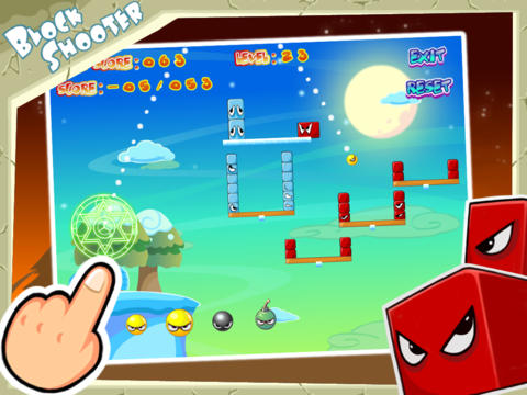 Download Block Shooter iPhone free game.