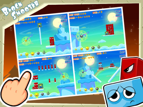 Free Block Shooter download for iPhone, iPad and iPod.