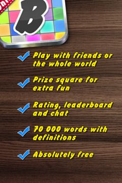 Screenshots of the Blockhead Online game for iPhone, iPad or iPod.