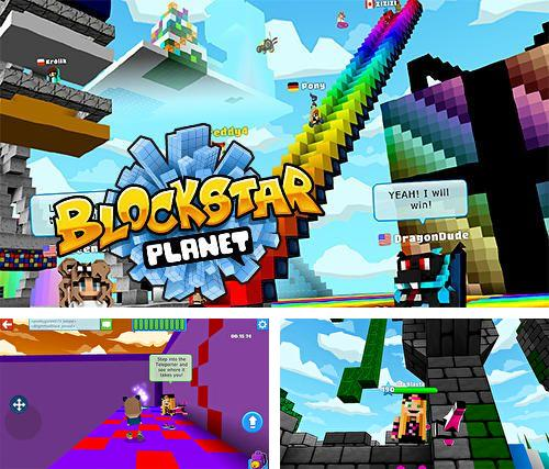 In addition to the game Reckless Racing 2 for iPhone, iPad or iPod, you can also download Blockstar planet for free.
