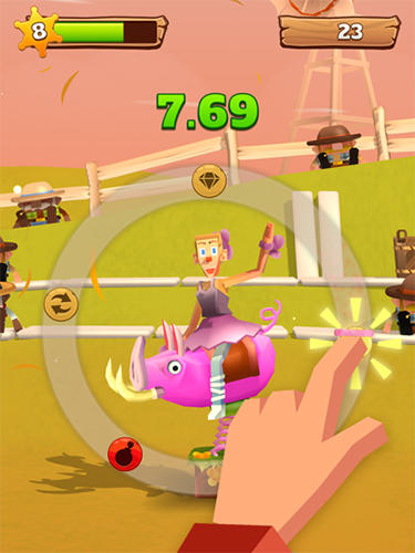 Download Blocky Bronco iPhone free game.