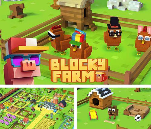 In addition to the game NinJump Deluxe for iPhone, iPad or iPod, you can also download Blocky farm for free.
