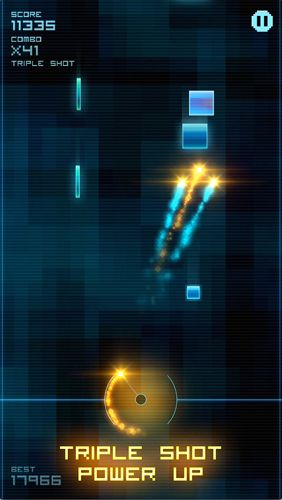 Screenshots of the Blokshot: Revolution game for iPhone, iPad or iPod.