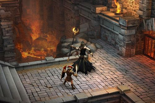 Screenshots of the Blood and glory: Immortals game for iPhone, iPad or iPod.
