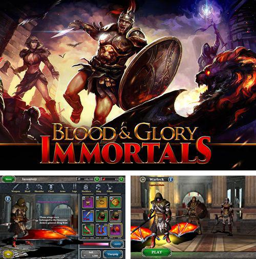 In addition to the game Iron Fist Boxing for iPhone, iPad or iPod, you can also download Blood and glory: Immortals for free.