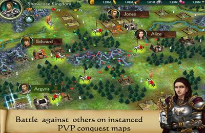 Screenshots of the Blood and Reign game for iPhone, iPad or iPod.