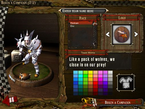 Descarga gratuita de Blood bowl para iPhone, iPad y iPod.