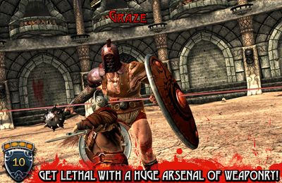 Screenshots vom Spiel Blood & Glory für iPhone, iPad oder iPod.