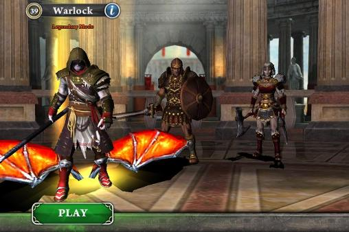 Kostenloser Download von Blood and glory: Immortals für iPhone, iPad und iPod.