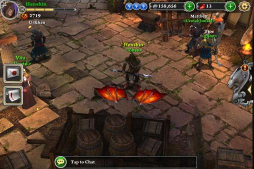 Screenshots vom Spiel Blood and glory: Immortals für iPhone, iPad oder iPod.