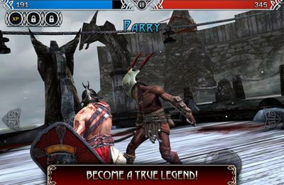 Screenshots vom Spiel Blood & Glory: Legend für iPhone, iPad oder iPod.