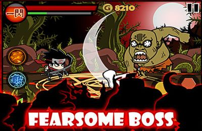 Écrans du jeu Blood Ninja:Last Hero pour iPhone, iPad ou iPod.