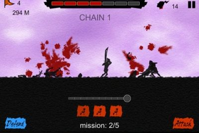 Capturas de pantalla del juego Blood Run para iPhone, iPad o iPod.