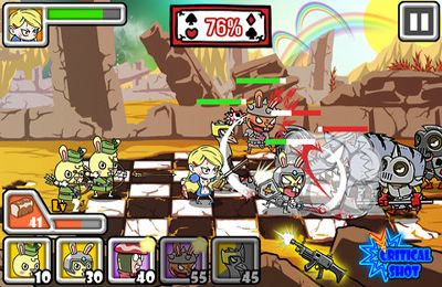 Écrans du jeu Bloody Alice Defense pour iPhone, iPad ou iPod.