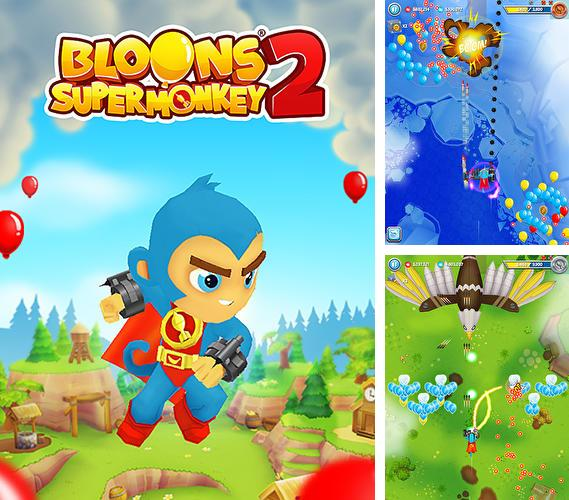In addition to the game iKungFu master for iPhone, iPad or iPod, you can also download Bloons supermonkey 2 for free.