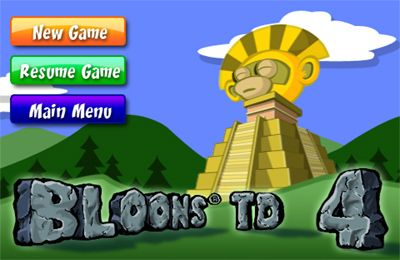 Bloons TD 4 iPhone game - free  Download ipa for iPad,iPhone,iPod