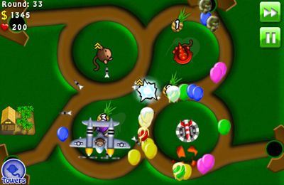 Download Bloons TD 4 iPhone free game.
