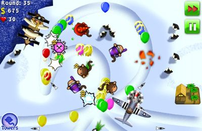 Free Bloons TD 4 download for iPhone, iPad and iPod.
